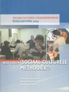 Wat is een sociaal-culturele methodiek?