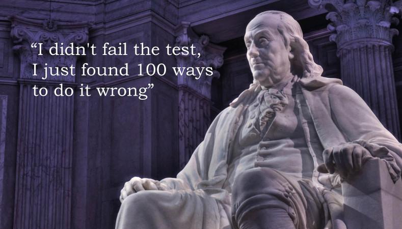 5 manieren om je project te doen mislukken