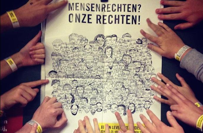 Vrijwilligers, het DNA van Amnesty International