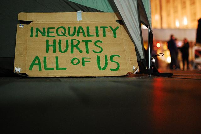 Een jaar in de wereld van de ongelijkheid