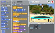 De Scratch interface -
