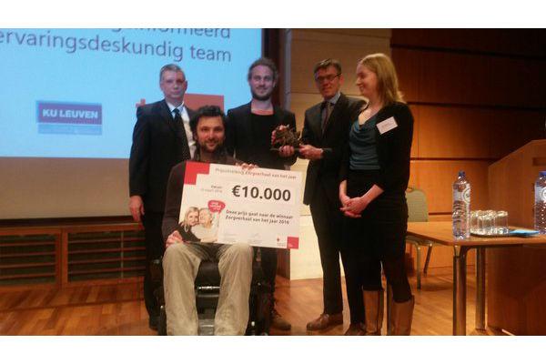 Onafhankelijk Leven wint prijs 'zorgverhaal van het jaar'
