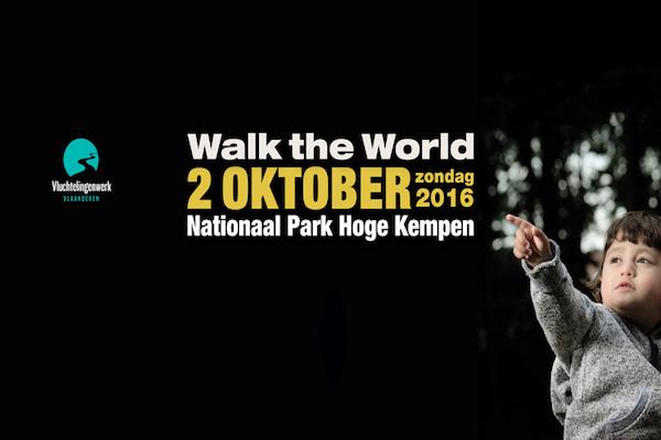 Stap mee met de Refugee Walk