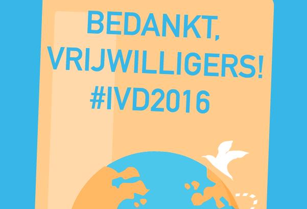 Doe mee met Internationale Dag Vrijwilligerswerk