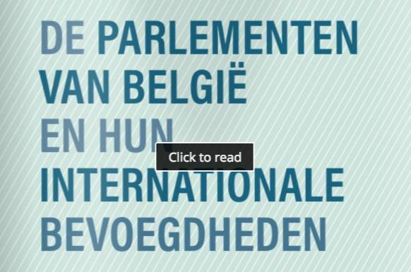 De parlementen van België en hun internationale bevoegdheden