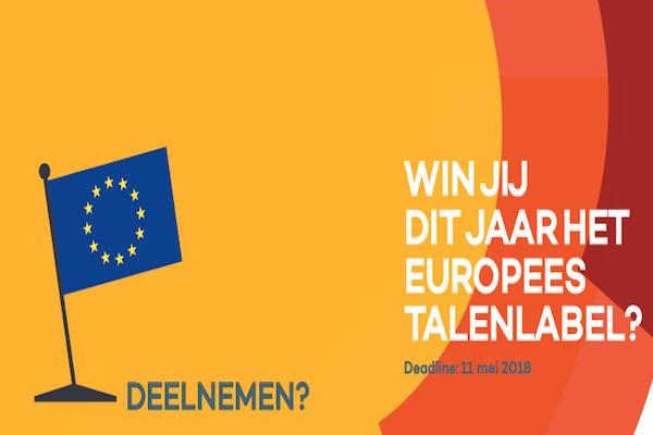 Europees Talenlabel 2018
