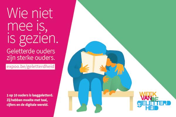 Foto: www.weekvandegeletterdheid.be